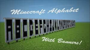Letter For Banner Minecraft Banner Letters Youtube