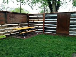 metal privacy fence panels corrugated metal fence panels tin roof fence decorative metal fence panels metal