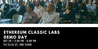 Ethereum Classic Etc Etc Labs Demo Day In San Francisco
