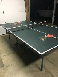 used ping pong table quick play series fold and go ping pong table appliaes in oak