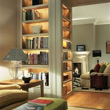 book shelf lighting. think about using lighting in side the cabinets craft room maybe glass front on top of it i tend to put small lamps into book shelves shelf h