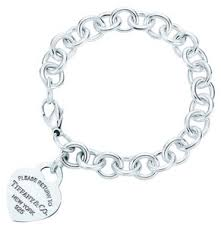 tiffany co return to tiffany heart bracelet