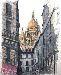 architecture watercolor watercolor architecture