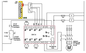npn output to 12vac input interface ?? plcs net interactive q & a how to wire a safety relay at Pilz Safety Relay Wiring Diagram