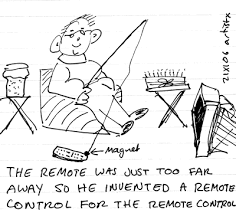remote control drawing. fine art drawings remote control drawing