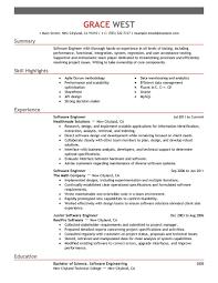 It Resume Sample 3 Software Engineer Example Nardellidesign Com