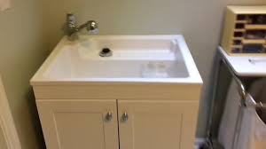 laundry sink and cabinet. Contemporary Cabinet Glacier Bay Laundry Sink Cabinet Review And Installation Intended And