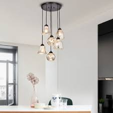 cluster pendant lighting. Psyche 6-Light Cluster Pendant Lighting