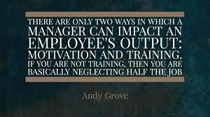 Training Quotes Mesmerizing Favorite Training Quotes From Intel's Andy Grove ELearning Council