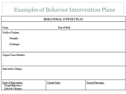 behavior intervention plan template funky behavior intervention plan template photo resume ideas