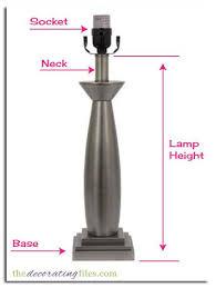 How To Measure Lamp Shade Custom determining lamp shade size Lampshade Size How to Determine What