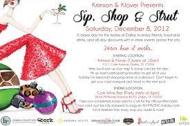 Krimson Klover Presents Sip Shop Strut Youplusstyle