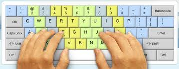 Keyboard Finger Chart For Typing How To Double Or Triple Your Typing Speed Take Our Typing