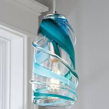 calypso swirl pendant glass pendant