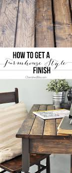 farmhouse style furniture. an easy stepbystep tutorial for finishing raw wood or furniture with farmhouse style