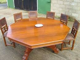 medium size of what size round table seats 10 12 oval dining outdoor best antique huge