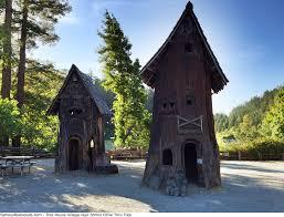 shrine drive thru tree tree house village