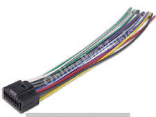 kenwood wiring harness kenwood car stereo head unit replacement wiring harness plug indash dvd cd mp