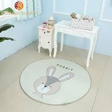 round baby rug nursery rugs cute animal design