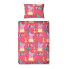 Peppa Pig Bedroom Accessories Peppa Pig Funfair 4 Piece Junior Bedding Set Great Kidsbedrooms