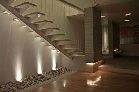 automatic led stair lighting. decorationsgreat looking automatic led stair lights with wooden handrail and white wall color decoration lighting h