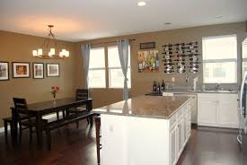 Kitchen Open To Dining Room Living Room Dining Room Kitchen Open Floor Plans Home Design