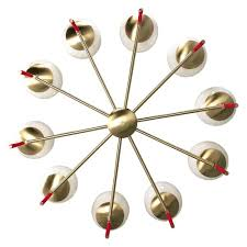 modern colorful chandelier. Chandelier Ceiling Light Fixture Color Lolli 36 Inch Red Brass White Globe Mid Century Modern Lighting Colorful