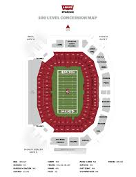 Levis Stadium Seating Chart Punctual Levis Stadium Interactive Map 2019