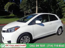 used 2016 toyota yaris in garden grove california oc cars and credit garden