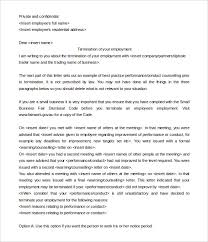 appeal letter for termination of employment 15 job termination letter templates free sample example format
