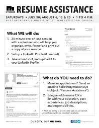 Resume Assistance