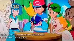 Pokemon sun and moon season 21 ✒