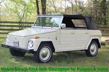vw thing 1974 volkswagen thing thing type 181