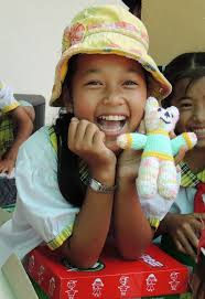 an operation child shoebox was the first gift ngo thi binh had ever received