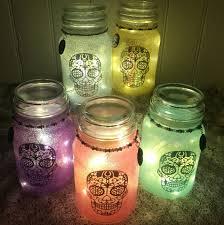 Decorating Candle Jars Sugar Skull Candle Jars Sugar Skull Culture 97