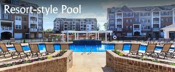 Nice ... Harrisonburg Apartment Pool ...