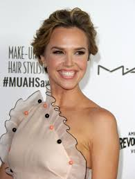 arielle kebbel the 2016 make up artist hair stylist guild awards in los angeles