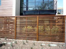 Custom Horizontal Board Next to Board Fence 1