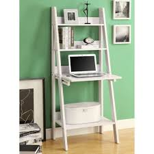 Wooden Ladder Display Stand Furniture Furniture Wall Mount Bookshelves With Wood Ladder And 90