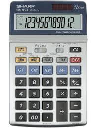sharp calculator. el-337c sharp calculator