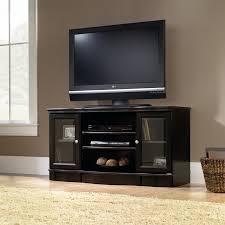 Tv Stands For 50 Flat Screens Sauder Black Regent Place Panel Tv Stand