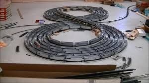 the double bi directional figure 8 spiral ho scale using knex the double bi directional figure 8 spiral ho scale using knex and bachmann ez track coub gifs sound