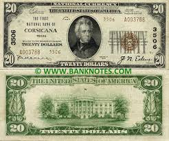The Bank Notes 1929 Dollars Pictures 20 Bank-notes Money American Currency World Collector Currency Images amp; Paper - Currency Photos World Banknotes Banknote Of Coins Texas Currencies