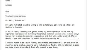 Job Resume Cover Letter Free Cover Letter Examples For Every Job