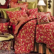 floral comforters | Home > Caspienne Floral Leaf Red Quilt Bedding ... & floral comforters | Home > Caspienne Floral Leaf Red Quilt Bedding Adamdwight.com