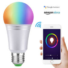 smartphone controlled lighting. Smart Led Light Bulb, Wi Fi Bulbs 6000K Dimmable Color Changing Smartphone Controlled Daylight Night Light, No Hub Require-in LED \u0026 Tubes From Lighting