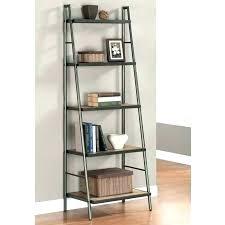 metal and wood bookshelf diy bookcase shelves wooden ladder plans furniture alluring