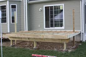 opinion on deck framing decks fencing contractor talk how to frame a deck