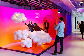 office backdrops. Life-Size Instagram Backdrops Office O