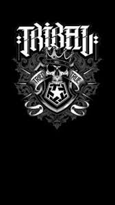 Tribal Gear New Design Tribal Black Wallpaper Android Iphone Wallpaper Iphone